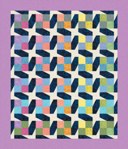 Lullaby Skies Paper Pieced Quilt Pattern
