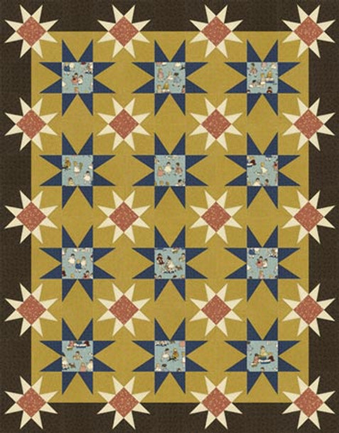 Best Friends Quilt Paper Pieced Quilt Pattern
