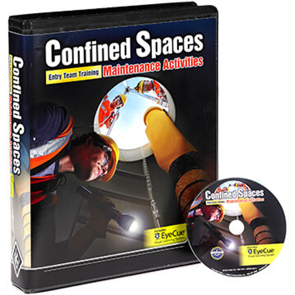 Confined Spaces: Entry Team Training - Maintenance Activities - DVD Training