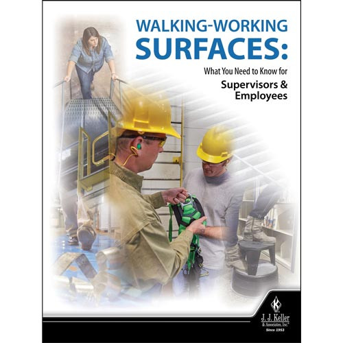 Walking Working Surfaces: What You Need to Know for Supervisors and Employees - DVD Training