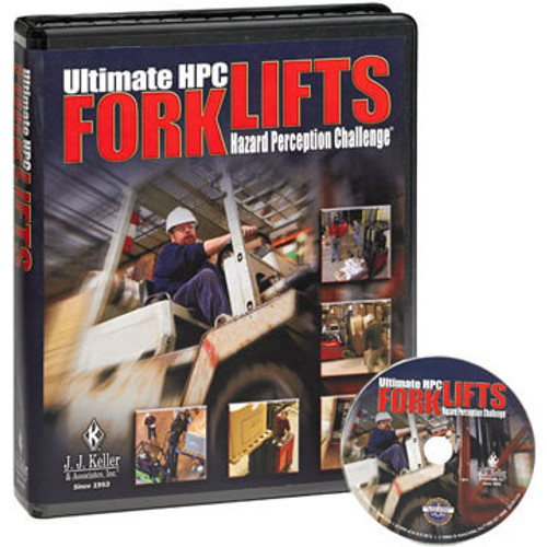 Forklift Hazard Perception Challenge - DVD Training