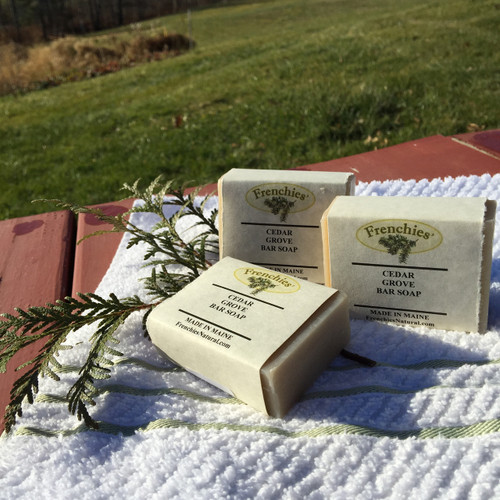 Frenchies' Cedar Grove Bar Soap