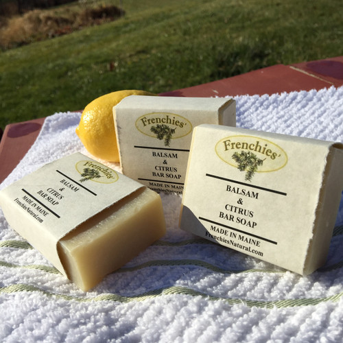 Frenchies' Balsam and Citrus Bar Soap