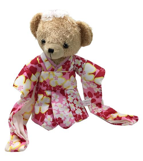 Cherry Blossom Kimono Teddy Bear