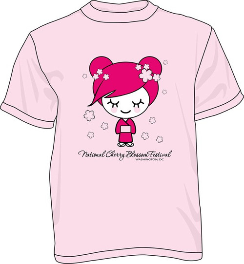 Youth Cherry Girl T-Shirt