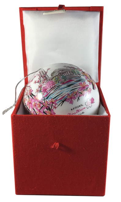 2017 Hand Painted Festival Ornament with Box