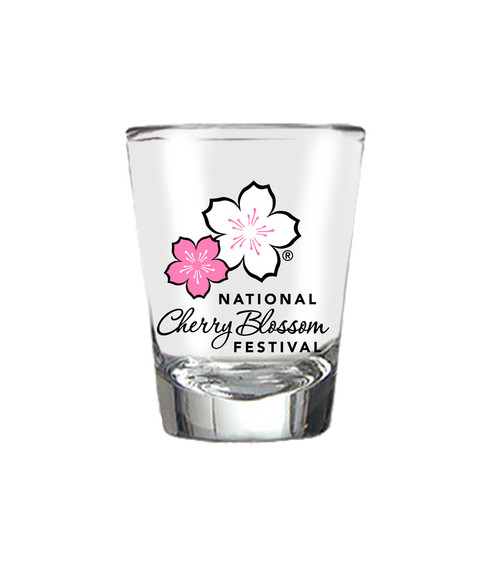 NCBF SHOT GLASS MULTI COLOR LOGO