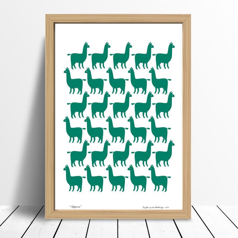 Alpacas, Green