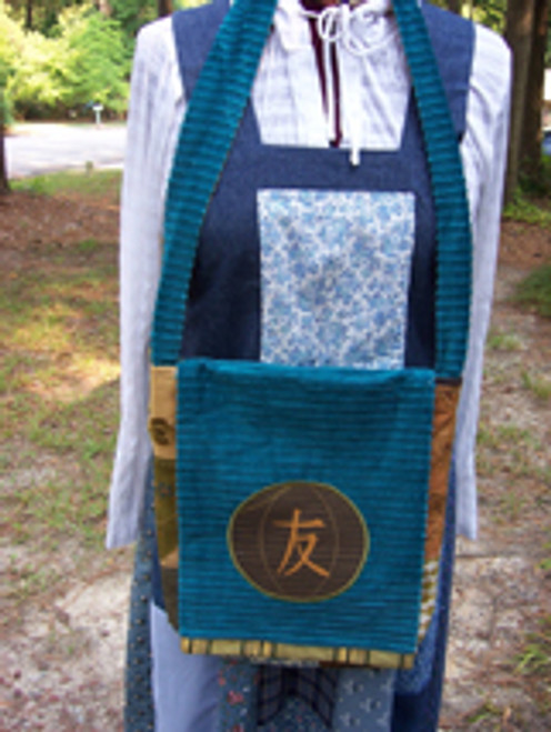 Oriental Ball Messenger Bag