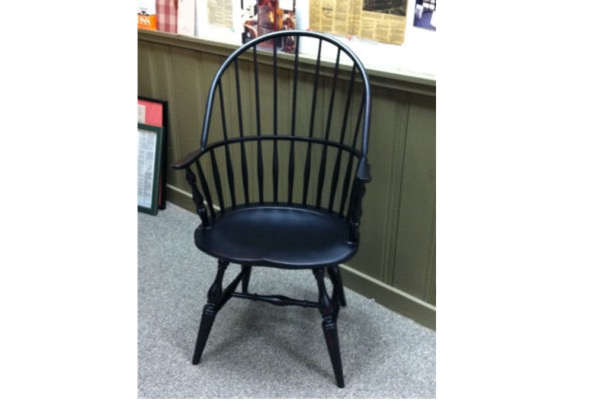 Windsor Bowback Arm Chair The Windsor Bowback Arm Chair Is Often Painted In  Black Or Forest Green.