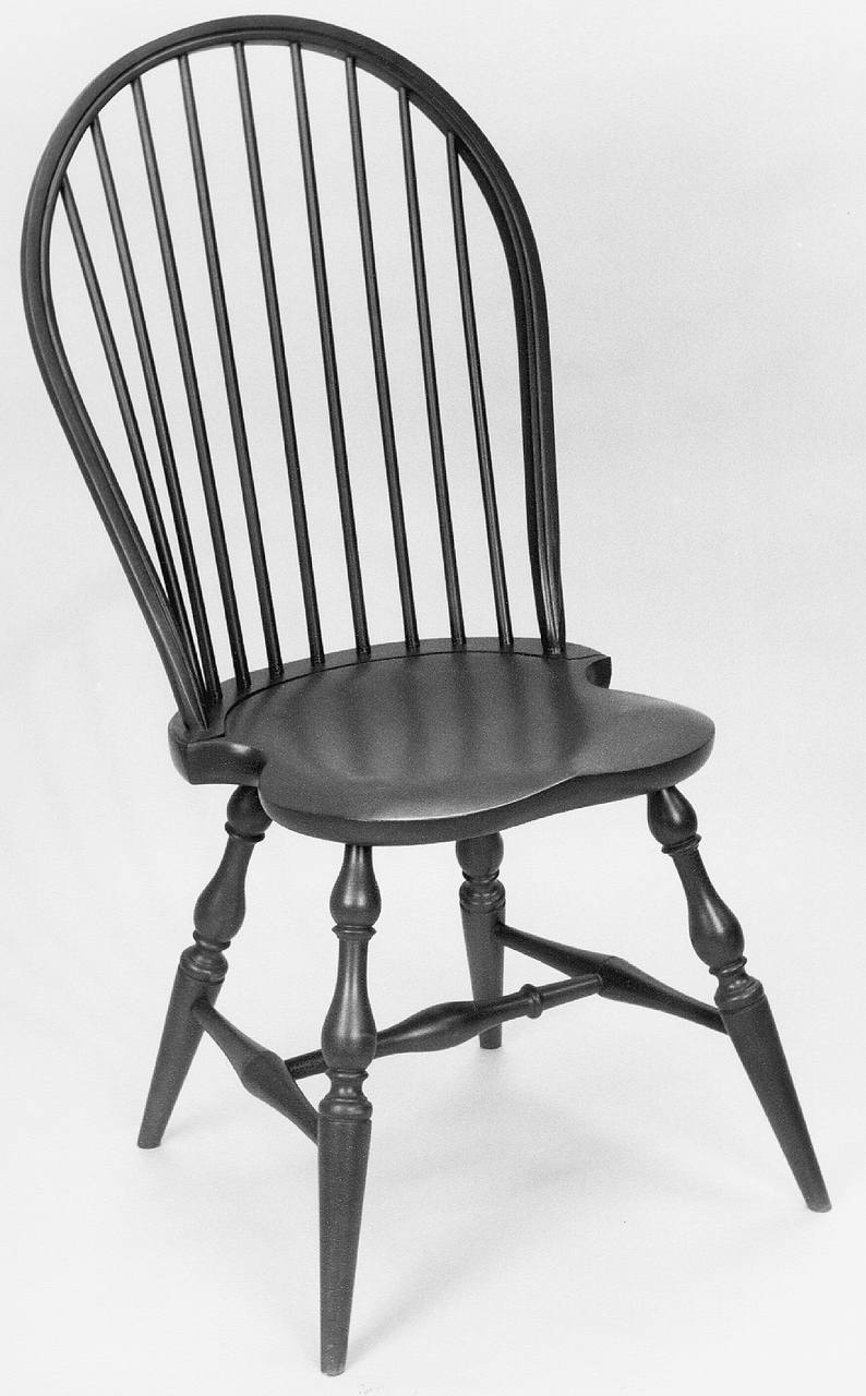 Charmant Many The Windsor Chair Was Traditionally Painted, Often In A Black Or  Forest Green. Many