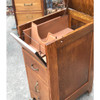 F17133 - Antique Oak Filing/Office Cabinet