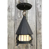 L17273 - Antique Arts and Crafts Semi-Flush Porch Lantern Fixture