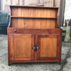 F17148 - Antique Victorian Era Country Style Dry Sink Cabinet