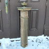 S17085 - Antique Oak Newel Post