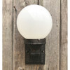 L18011 - Antique Colonial Revival Cast Iron Exterior Wall Sconce