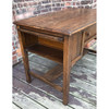 F18014 - Antique Arts and Crafts Library Table/Desk