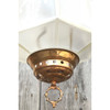 L18052 - Antique Neo-Grec Kerosene Pull Down Lamp with Double Etched Globe