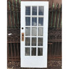 "D18059 - Antique Revival Period Beveled Glass Interior/Exterior Door 32"" x 77-1/2"""