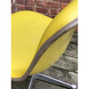 F18046 - Vintage Mid Century Eames Molded and Padded Fiberglass Office Chair
