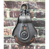 A18070 - Antique Wood and Iron Pulley