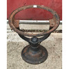 S18071 - Antique Cast Iron Water Tank Base