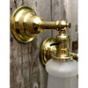 L18103 - Pair of Antique Brass Sconces