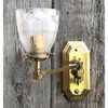 610019 - Antique Arts and Crafts Gas Wall Sconce