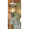 L12245 - Large Scale Antique Bronze Griffin Wall Sconce