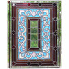 G14030 - Antique Late Victorian Stained and Beveled Glass Window