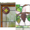 G15048 - Antique Arts and Crafts Stained Glass Window