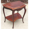 F15155 - Antique Colonial Revival Mahogany Dressing Table with Lift Top and Mirror