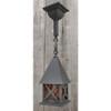 L16069 - Antique Arts & Crafts Exterior 4 Sided Lantern