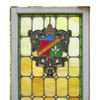 G16035 - Antique Tudor Revival Stained Glass Window