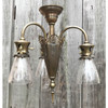 L16173 - Antique Three Light Hanging Fixture