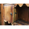 F16175 - Antique Colonial Pine Open Cupboard