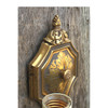 L17026 - Pair of Colonial Revival Style Double Candle Arm Sconces