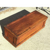 A17020 - Antique Poplar Tool Chest With Internal Tray