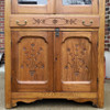 F17031 - Antique Victorian Ash Wood Cupboard