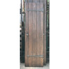 "D17066 - Antique Tudor Revival Oak Interior Door 20-1/4"" x 70-3/4"""
