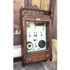 """A17027 - Antique Late Victorian Oak Wall Hanging """"Hydro Therapy"""" Medical Cabinet"""