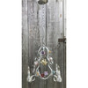L17133 - Antique Four Arm Light Fixture