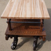F17069 - Custom Oak & Maple Kitchen Island