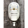 L17142- Antique Ceramic Wall Sconce
