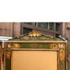 A17058 - Antique Revival Period Four Panel Dressing Screen