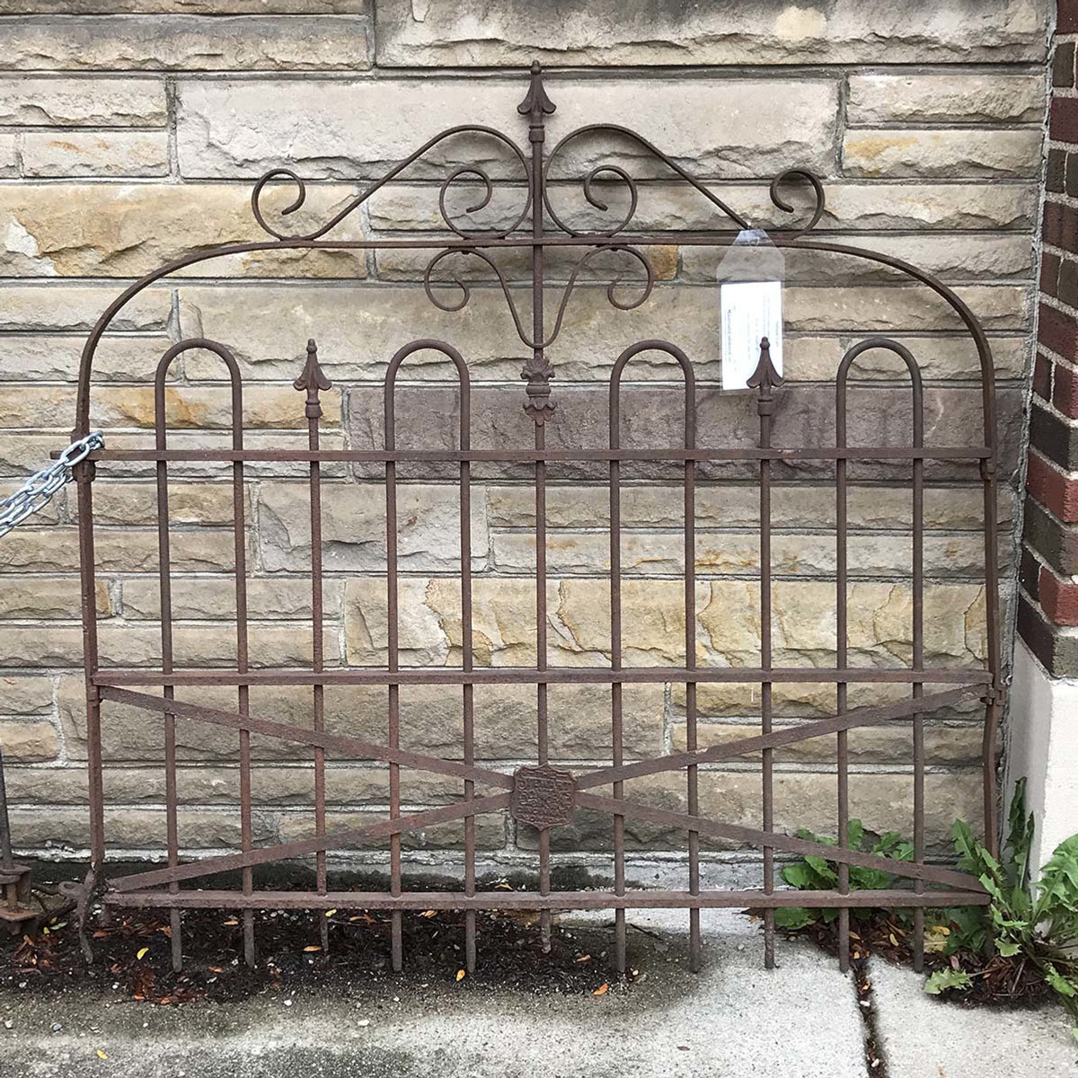 A17089 - Antique Wrought Iron Gate
