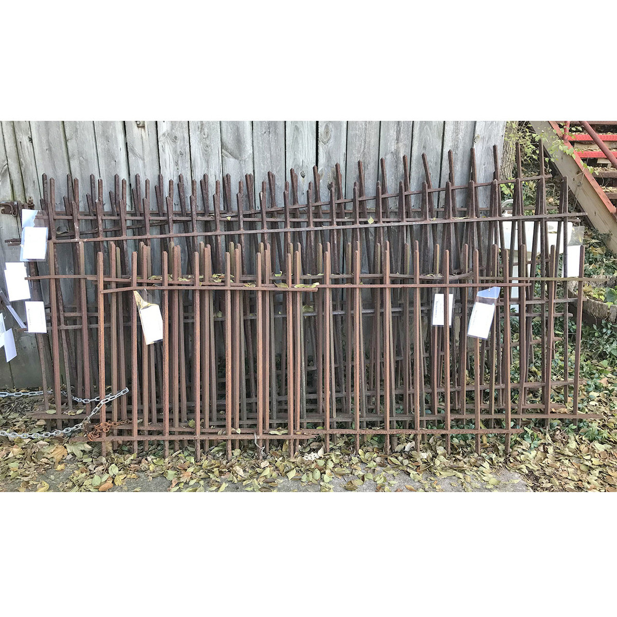 S17076A - Antique Wrought Iron Fencing