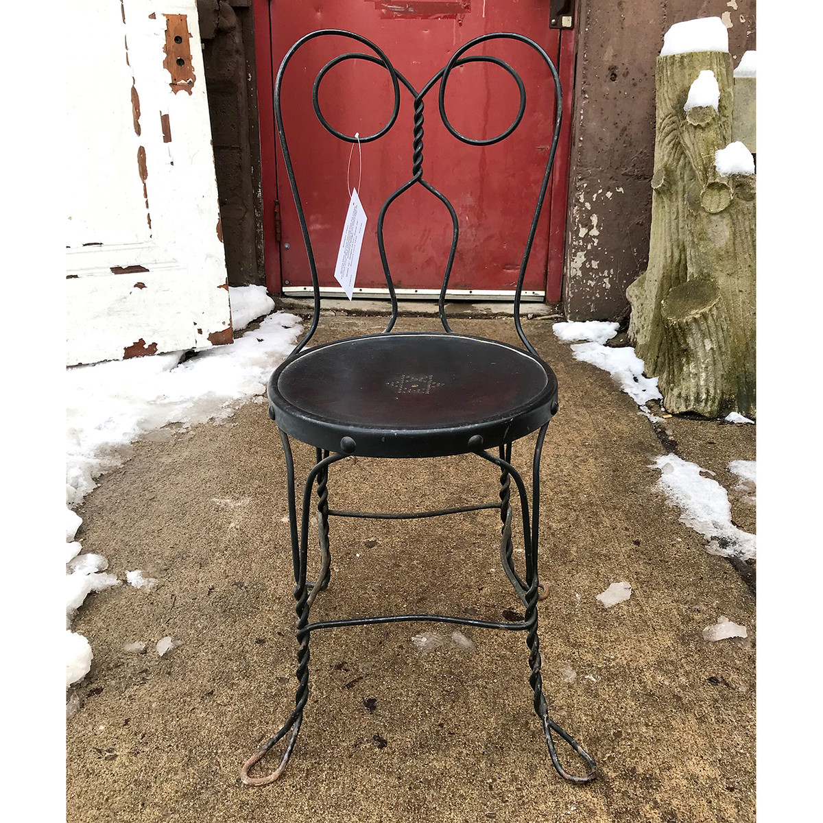 - F18010 - Antique Revival Period Wire Chair