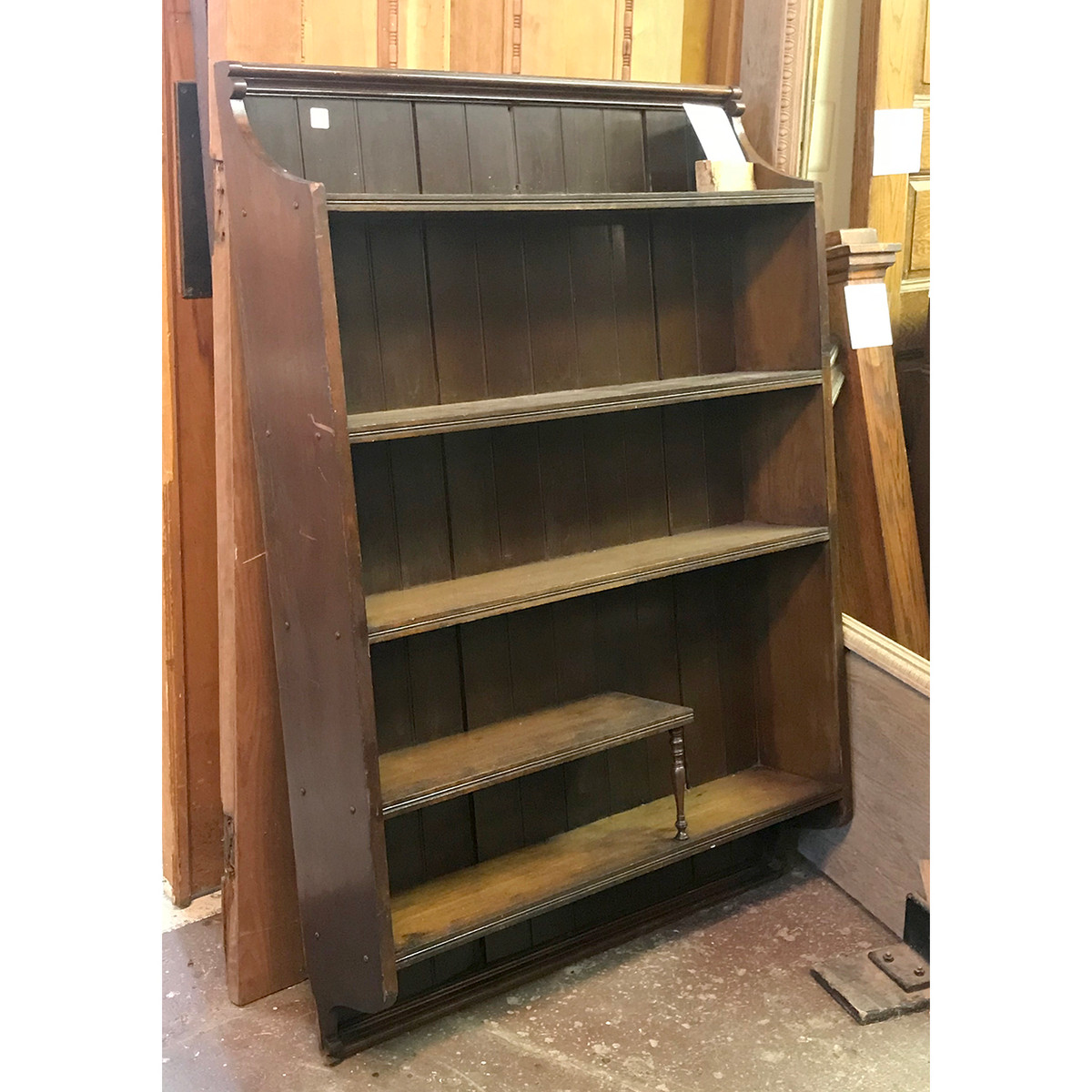 F18035 - Antique Victorian Wall Mounted Shelving Unit