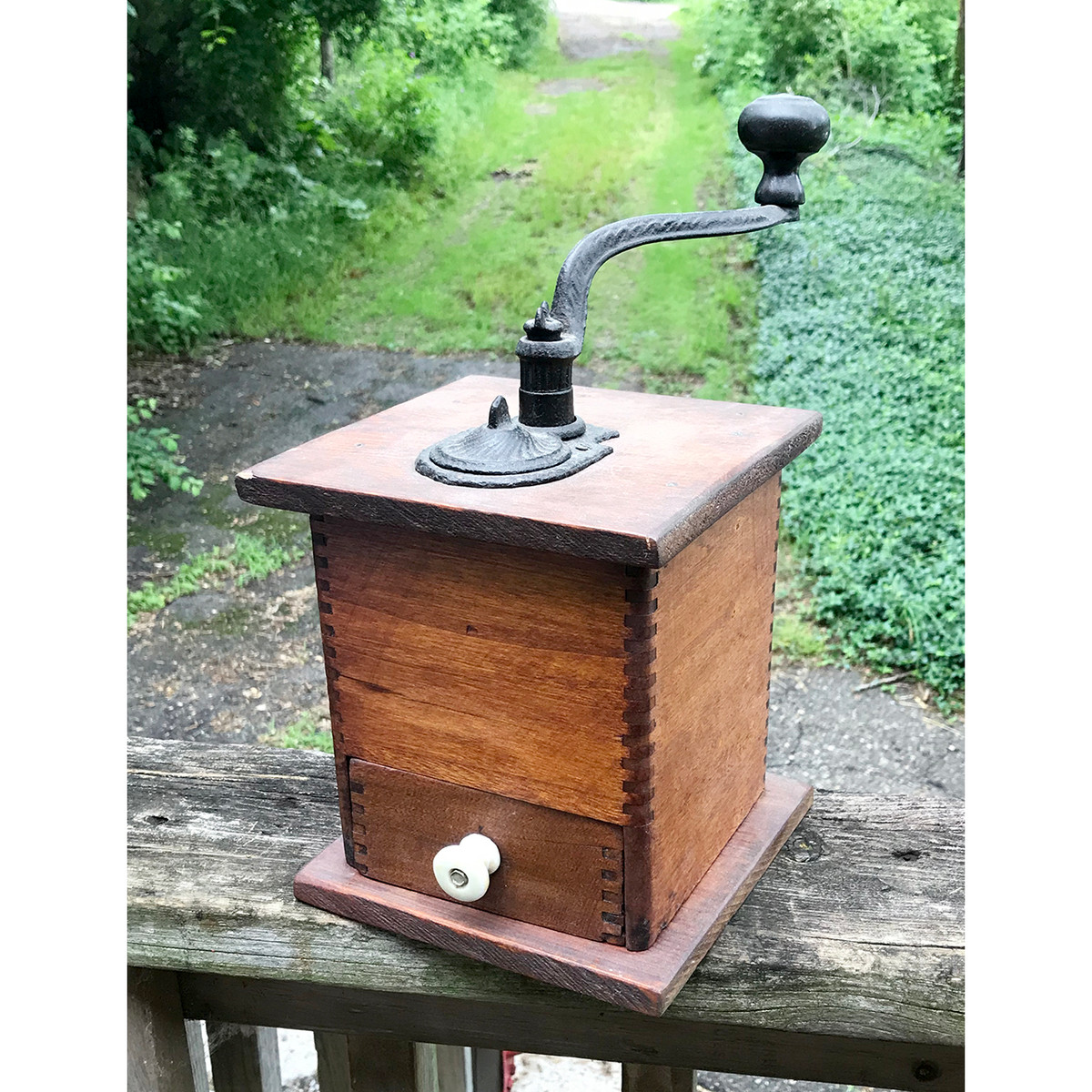 A18080 - Antique Coffee Grinder